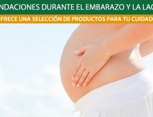 Productos recomendados durante el embarazo y la lactancia de Weleda