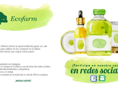 Concurso Ecofarm en Facebook e Instagram febrero 2017