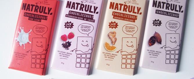 chocolates naturales